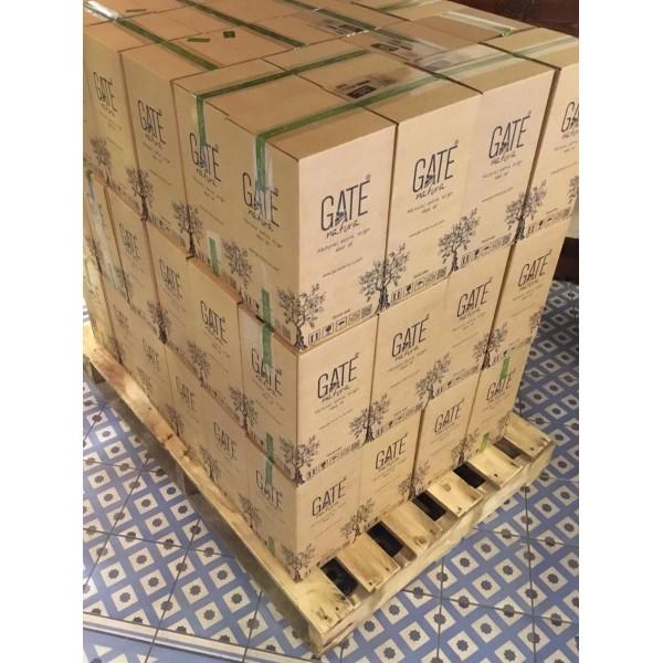 Soğuk Sıkım Taş Baskı Sızma Zeytinyağı |1 palet. 72 koli  (6#500 ml) 432adet 500ml.